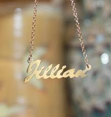 14k gold name plates 14k gold vermeil name plate necklace jenner be monogrammed