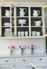Kitchen Cabinets White Best 25 Glass Kitchen Cabinets Ideas On Pinterest Kitchens With