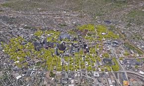 visualization of land devoted to parking u2013 denverinfill blog