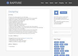 new themes tumblr 2014 rapture a responsive tumblr theme by christinewilde themeforest