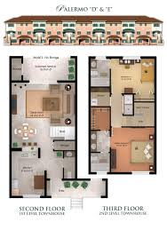 2 Bedroom Condo Floor Plan Il Villagio Condominiums And Townhomes In Jacksonville Florida