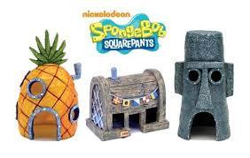spongebob squarepants home aquarium ornaments a of