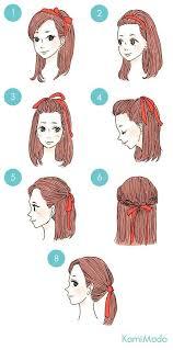 kawaii hairstyles no bangs fita no cabelo 3 hairstyle pinterest kawaii hairstyles and