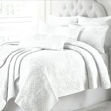 Quilted Cotton Coverlet King White Quilt Quilts King Size White Quilt Cover King Size