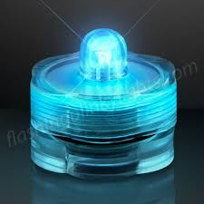turquoise submersible led lights by flashingblinkylights