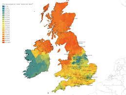 how do you say map in how do you really pronounce scone uk map reveals south