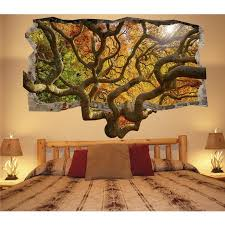 3d Wallpaper For Bedroom Startonight 3d Mural Wall Art Photo Decor Brown Tree Amazing Dual