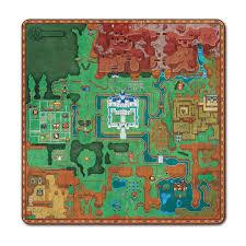 The Legend Of Zelda A Link Between Worlds Map by Amazon Com The Legend Of Zelda A Link Between Worlds Overworld