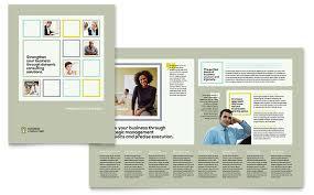 mac brochure templates business consultants brochure template design