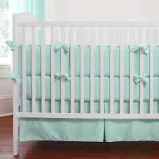 teal crib bedding set solid seafoam aqua 2 piece crib bedding set carousel designs