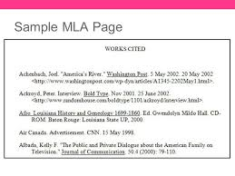 example of mla format purdue owl mla formatting and style guide
