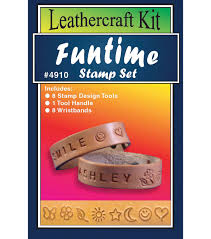 leather craft kit funtime stamp set joann