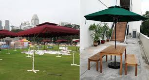 Patio Umbrella Singapore Miscellaneous Items Event Rental Singapore Lian Hup Seng
