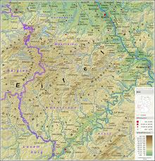 Map Of Belgium And Germany by Eifel Wikipedia