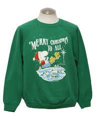 snoopy christmas sweatshirt 1980 s vintage snoopy christmas sweatshirt 80s authentic