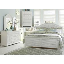 king poster bedroom set liberty furniture summer house i 4 piece king poster bedroom set