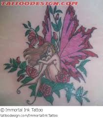 Fairy And Flower Tattoo Designs A Tattoo Design Picture By Immortal Ink Tattoo Fantasy Fairy