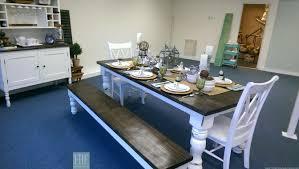 massive 6 inch turned leg farmhouse table farmhouse furniture turned leg farmhouse table category dining room furniture