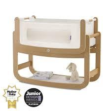 Bed Side Cribs Snuzpod2 Bedside Crib 3 In 1 Including Mattress Kiddicare