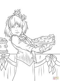 junie b jones and the yucky blucky fruitcake coloring page free