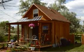 how to build a 400 sqft solar powered off grid cabin for 2k