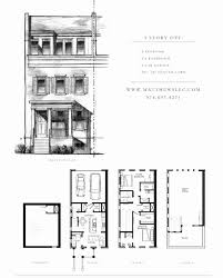 small 3 story house plans 50 new collection of narrow lot 3 story house plans floor and