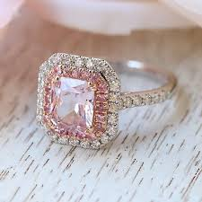 pink wedding rings pink sapphire engagement rings wedding ideas photos