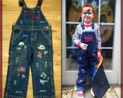 chucky costume toddler chucky costume etsy