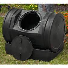 frog 37 gallon recycled plastic compost tumbler hayneedle