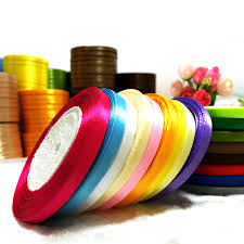christmas ribbon wholesale 25 yards roll 6mm single satin ribbon wholesale gift