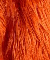 Mongolian Faux Fur Rug Burnt Orange Shaggy Mongolian Faux Fur Craft By Everafterfabrics