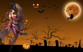 halloween background anime fondo pantalla anime halloween night