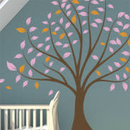 pastel garden wall decal pack dezign with a z