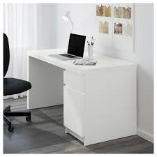 Schreibtisch Ausfahrbar Malm Schreibtisch Weiß Ikea