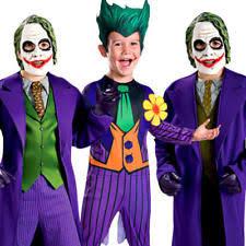 Joker Halloween Costume Kids Boys Fancy Dress Costumes Batman Ebay