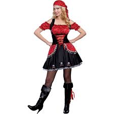 pirate halloween costume kids pirate beauty women u0027s halloween costume walmart com