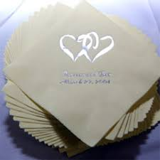 printed wedding napkins wedding napkins decoration