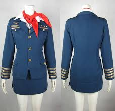 halloween flight attendant costume amazing vintage dress and jacket set from the late 1950s early