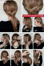 step by step twist hairstyles twisted ponytail tutorial hair romance