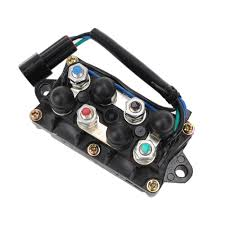 motorcycle outboard power trim relay assembly for yamaha 2 u0026 4