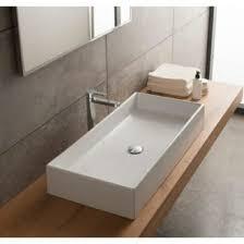 small rectangular vessel sink rectangular bathroom sinks thebathoutlet com