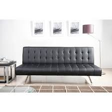 Futon Or Sleeper Sofa Abbyson Living Futon Sleeper Sofa Black Bj S Wholesale Club