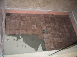flooring shower floor tile amazing picture concept mosaic grey