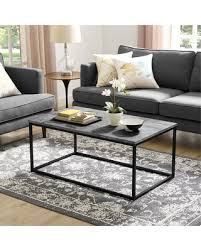 walker edison coffee table spectacular deal on walker edison coffee table dark concrete