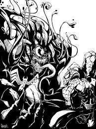 venom spiderman digi ink pnutink deviantart