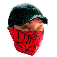 spider man face mask turn party starts
