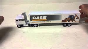 kw tractor trailer 1 64 ertl kenworth k100 tractor trailer case caseih diecast youtube