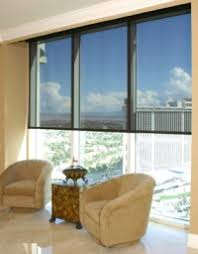 Sun Blocking Window Treatments - insolroll residential solar screen shades retracting