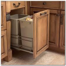 Wooden Kitchen Garbage Cans by Kitchen Garbage Cans Trash Can Tilt Out Trash Bin Garbage Can