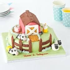 easy entertaining farmyard friends cake tesco groceries